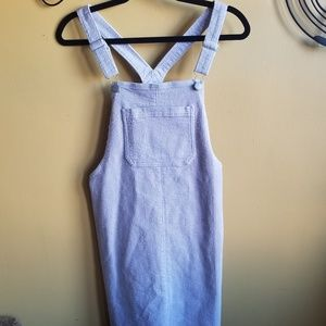 Overall lavender dress